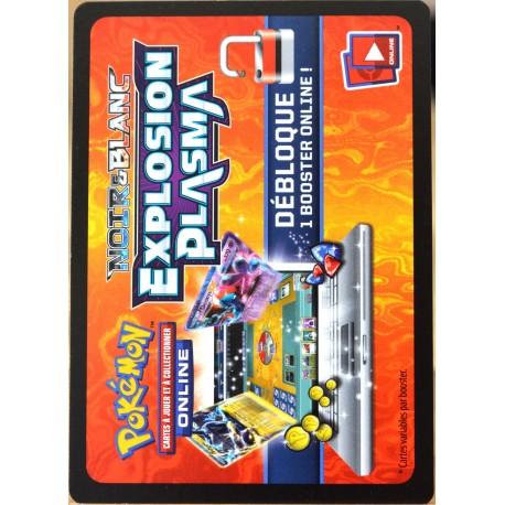 JCC Pokémon booster online Noir & Blanc 10 - Explosion Plasma Codes (NEUF non utilisé)