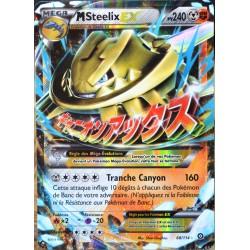 carte Pokémon 68/114 Méga Steelix EX (Shiny) 240 PV XY - Offensive Vapeur NEUF FR