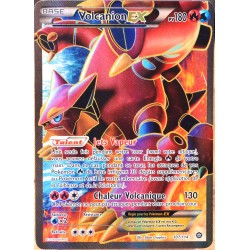 carte Pokémon 107/114 Volcanion EX 180 PV - FULL ART XY - Offensive Vapeur NEUF FR
