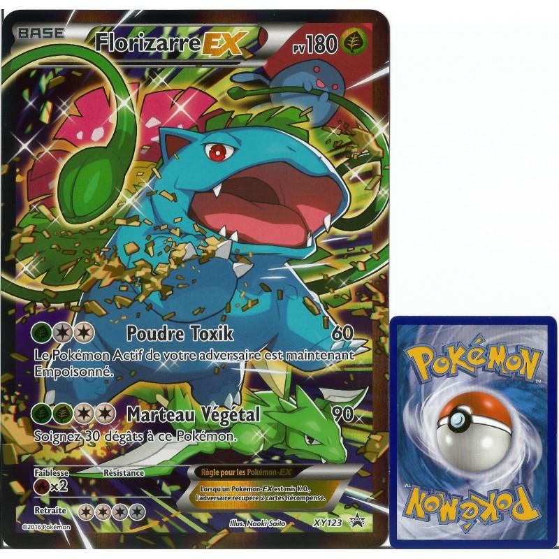 Carte pok mon xy123 florizarre ex jumbo 180 pv full art - Carte pokemon a imprimer gratuitement ex ...