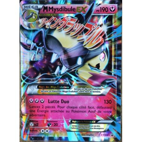 Carte Pokémon Xy104 Mega Mysdibule Ex 190 Pv Promo Neuf Fr Clicandsell