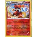 carte Pokémon 13/124 Goupelin 140 PV - HOLO REVERSE XY - Impact des Destins NEUF FR