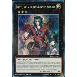 carte YU-GI-OH DUEA-FR085 Dante, Voyageur Des Abysses Ardents NEUF FR