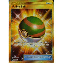 carte Pokémon 158/149 Faiblo Ball - FULL ART SECRETE SM1 - Soleil et Lune NEUF FR