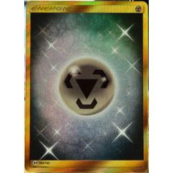 carte Pokémon 163/149 Énergie Métal - FULL ART SECRETE SM1 - Soleil et Lune NEUF FR