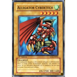 carte YU-GI-OH 5DS2-FR003 Alligator Cybertech NEUF FR