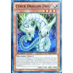 carte YU-GI-OH SDCR-FR004 Cyber Dragon Zwei NEUF FR