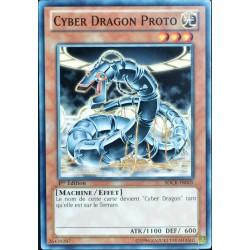 carte YU-GI-OH SDCR-FR005 Cyber Dragon Proto NEUF FR