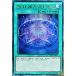 carte YU-GI-OH MVP1-FR019 Voile de Magie Noire NEUF FR