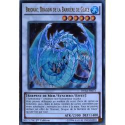 carte YU-GI-OH DUSA-FR073 Brionac, Dragon De La Barrière De Glace NEUF FR