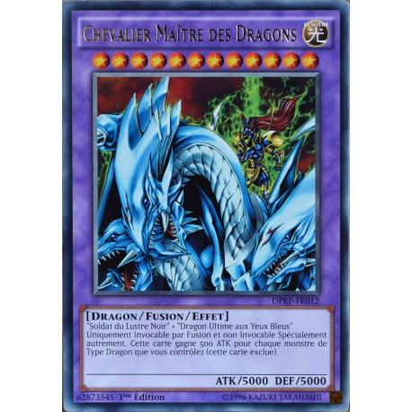 carte YU-GI-OH DPRP-FR012 Chevalier Maître des Dragons NEUF FR