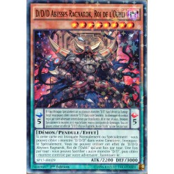 carte YU-GI-OH SP17-FR029-ST D/d/d Abysses Ragnarok, Roi De L'oubli NEUF FR
