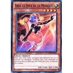 carte YU-GI-OH DUEA-FR014 Aria La Diva De La Musique NEUF FR