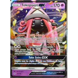 carte Pokémon 60/145 Tokopiyon GX 170 PV SL2 - Soleil et Lune - Gardiens Ascendants NEUF FR