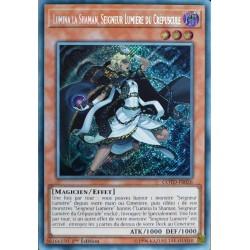 carte YU-GI-OH COTD-FR026 Lumina la Shaman, Seigneur Lumière du Crépuscule NEUF FR