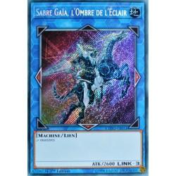carte YU-GI-OH COTD-FR051 Sabre Gaïa, l'Ombre de l'Eclair NEUF FR