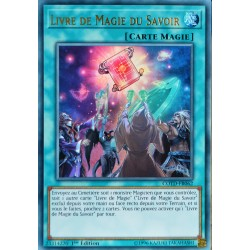 carte YU-GI-OH COTD-FR062 Livre de Magie du Savoir NEUF FR