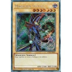 carte YU-GI-OH CT14-FR001 Magicien Sombre NEUF FR
