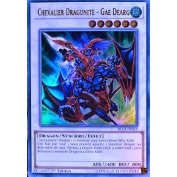 carte YU-GI-OH BLLR-FR059 Chevalier Dragunité - Gae Dearg NEUF FR