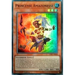 carte YU-GI-OH LEDU-FR008 Princesse Amazonesse NEUF FR