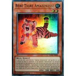 carte YU-GI-OH LEDU-FR009 Bébé Tigre Amazonesse NEUF FR