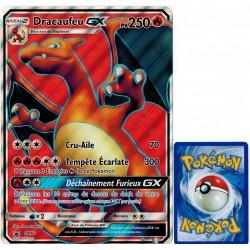 carte Pokémon SM60 Dracaufeu GX JUMBO 250 PV - FULL ART Promo NEUF FR