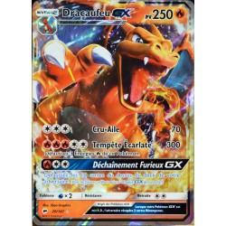 carte Pokémon 20/147 Dracaufeu GX 250 PV SL3 - Soleil et Lune - Ombres Ardentes NEUF FR