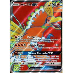carte Pokémon 131/147 Ho-Oh GX 190 PV - FULL ART SL3 - Soleil et Lune - Ombres Ardentes NEUF FR