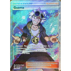 carte Pokémon 143/147 Guzma FULL ART SL3 - Soleil et Lune - Ombres Ardentes NEUF FR