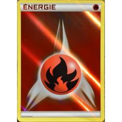 carte Pokémon  Energie Feu - REVERSE Deck Combat Légendaire NEUF FR