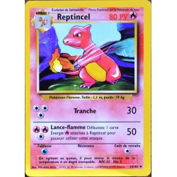 carte Pokémon 24/102 Reptincel 80 PV Set de base NEUF FR