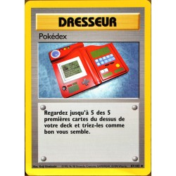 carte Pokémon 87/102 Pokédex Set de base NEUF FR