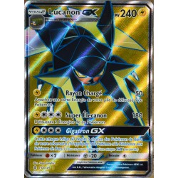 carte Pokémon 134/145 Lucanon GX 240 PV - FULL ART SL2 - Soleil et Lune - Gardiens Ascendants NEUF FR