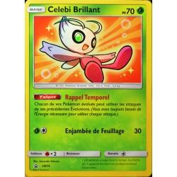 carte Pokémon SM79 Celebi Brillant  70 PV Promo