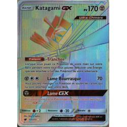 carte Pokémon 117/111 Katagami GX  170 PV - SECRETE