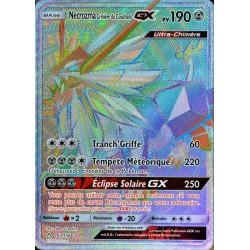 carte Pokémon 163/156 Necrozma Crinière du Couchant GX