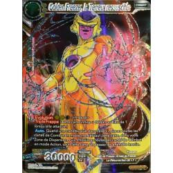 carte Dragon Ball Super BT1-086-SPR Golden Freezer, la Terreur ressuscitée