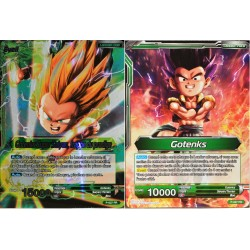 carte Dragon Ball Super P-027-PR Gotenks Super Saiyan, frappe du prodige