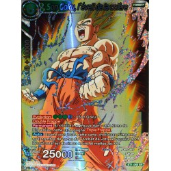 carte Dragon Ball Super BT1-059-SR Son Goku, l'éveil de la colère