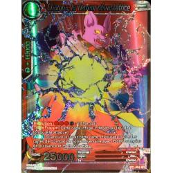 carte Dragon Ball Super BT1-004-SR Champa, la Terreur dévastatrice