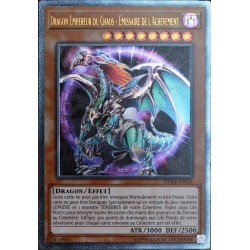 carte YU-GI-OH DPKB-FR016 Dragon Empereur Du Chaos - Emissaire De L'achèvement NEUF FR