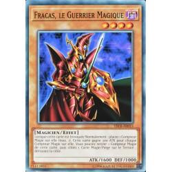 carte YU-GI-OH YSYR-FR015 Fracas, Le Guerrier Magique NEUF FR