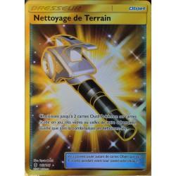 carte Pokémon 163/145 Nettoyage de Terrain SL2 - Soleil et Lune - Gardiens Ascendants NEUF FR