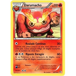 carte POKEMON Frontières Franchies - DARUMACHO - 28/149
