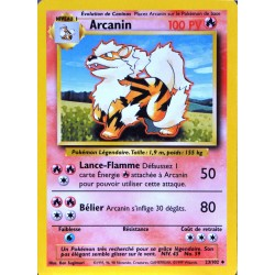 carte Pokémon 23/102 Arcanin 100 PV Set de base NEUF FR