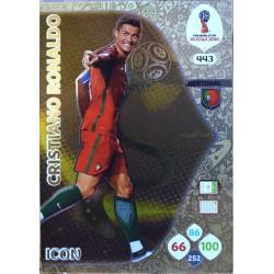carte PANINI ADRENALYN XL FIFA 2018 #443 Cristiano Ronaldo / Portugal