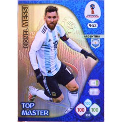 carte PANINI ADRENALYN XL FIFA 2018 #463 Lionel Messi / Argentina