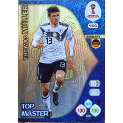 carte PANINI ADRENALYN XL FIFA 2018 #466 Thomas Müller / Germany