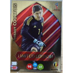 carte PANINI ADRENALYN XL FIFA 2018 #LE-TC Thibaut Courtois