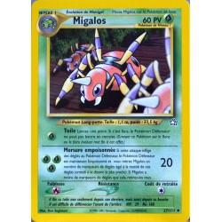 carte Pokémon 27/111 Migalos 60 PV Neo genesis (2001) NEUF FR